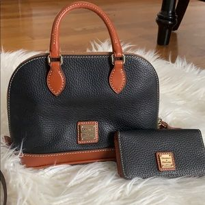 Dooney & Bourke purse and wallet combo